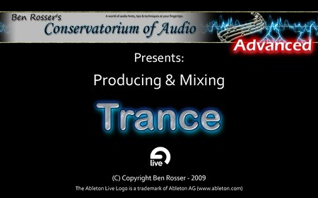 Conservatorium of Audio Producing & Mixing Trance TUTORiAL
