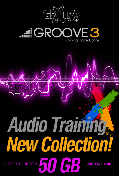 Groove3 - Audio Training New Collection!