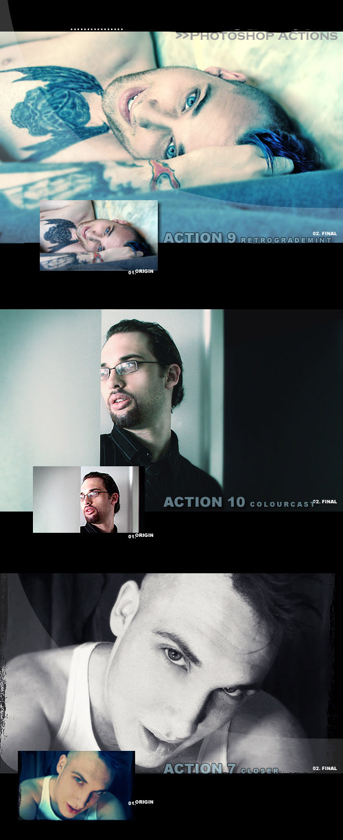Photoshop Action pack 111