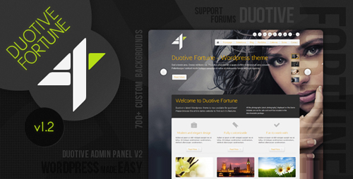 ThemeForest - Duotive Fortune - Wordpress Theme v1.2