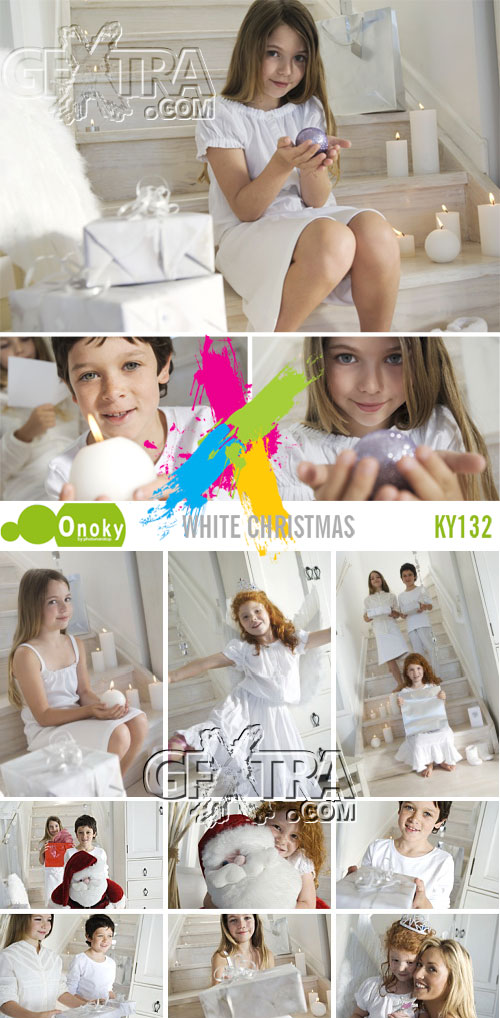 Onoky Images KY132 White Christmas