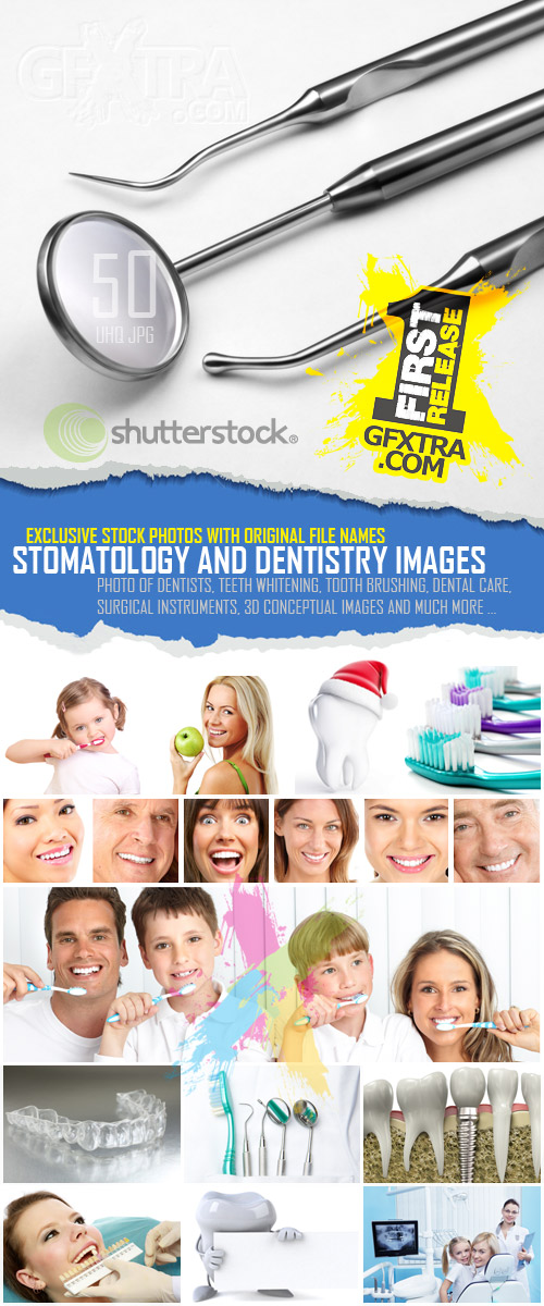 Stomatology and Dentistry Images, 50xJPG