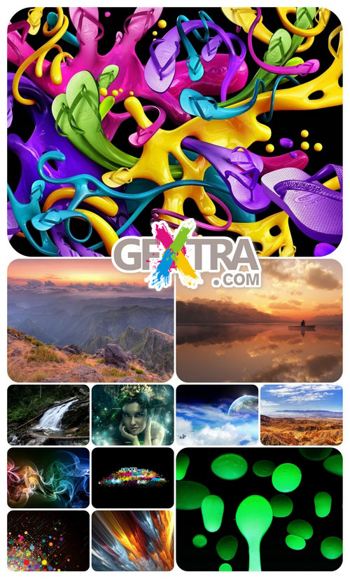 Beautiful Mixed Wallpapers Pack 207 - Gfxtra