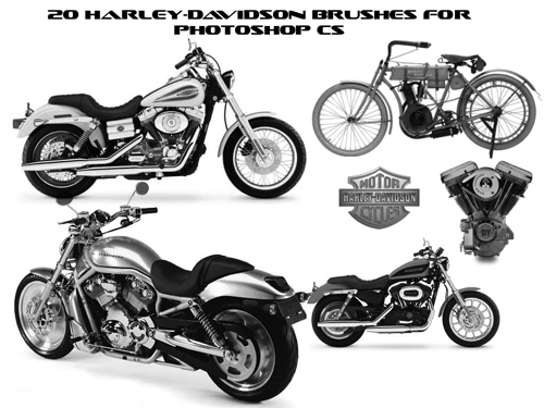 Harley Davidson Brushes