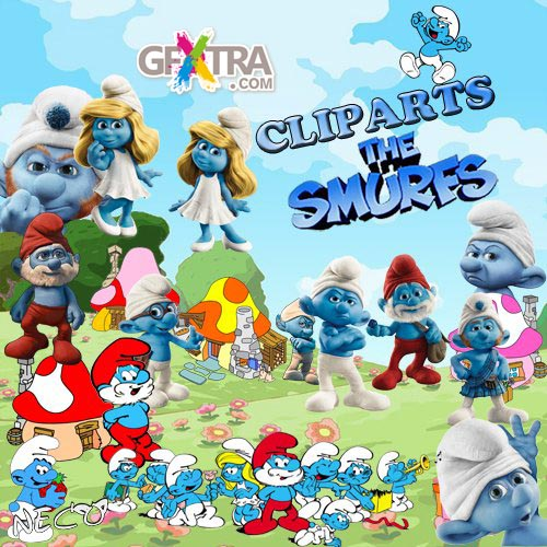Cliparts the smurfs