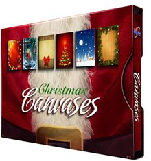 Christmas Canvases Collection Vol.1, 200 UHQ JPG Backgrounds