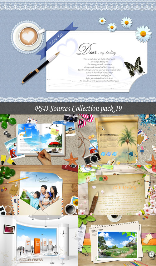 PSD Sources Collection pack 19