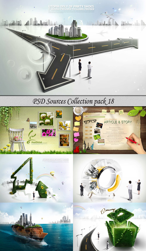 PSD Sources Collection pack 18