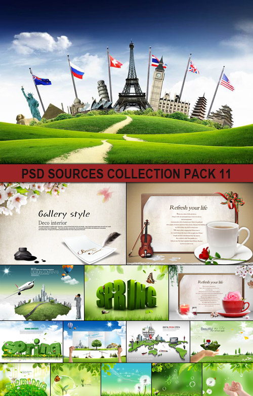 PSD Sources Collection pack 11