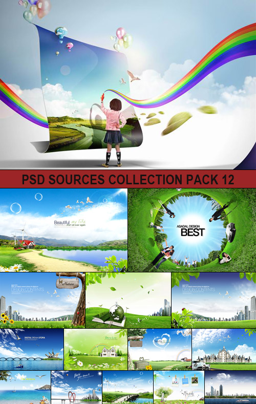 PSD Sources Collection pack 12