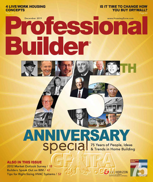 Professional Builder - December 2011