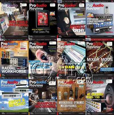 ProAudio Review 2011 Full Year Collection
