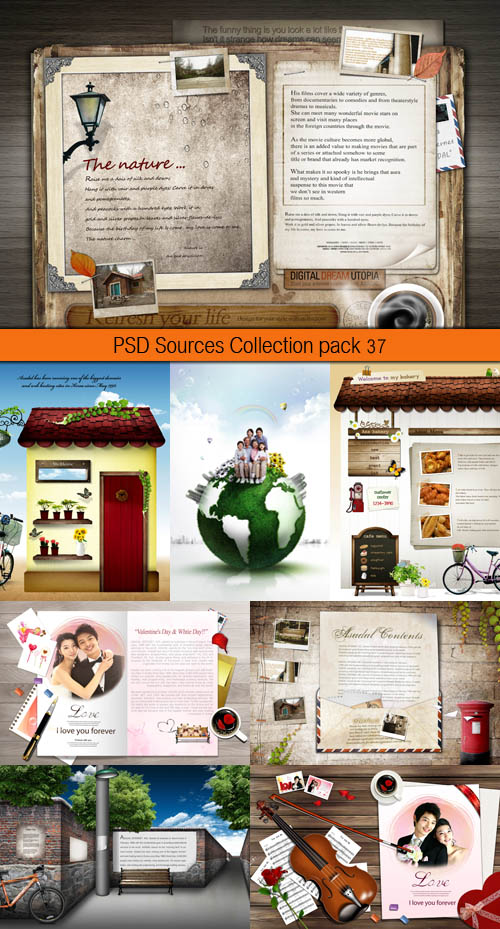 PSD Sources Collection pack 37