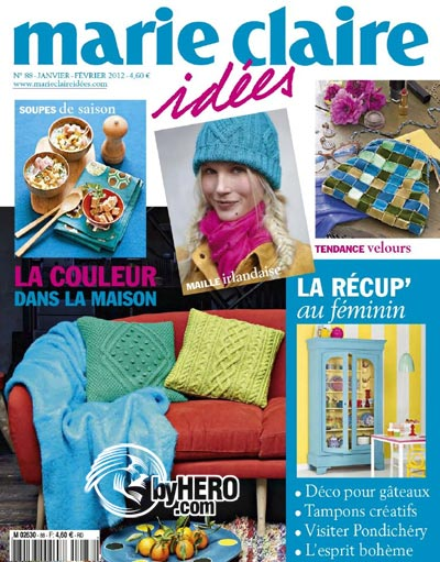 Marie Claire Idees No.88 Jan-Fev 2012