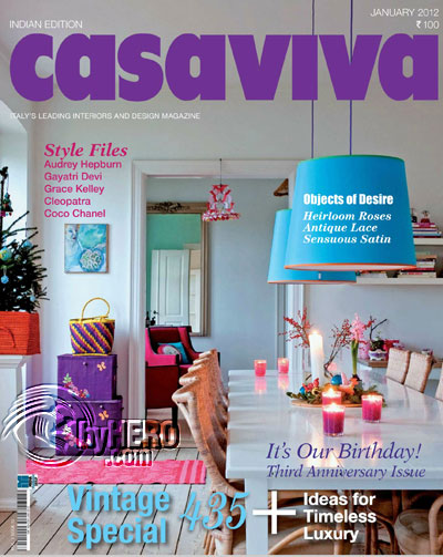 Casaviva India Edition Magazine January 2012