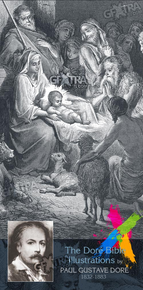 The Bible Illustrations by Paul Gustave Dore, 241 UHQ Plates