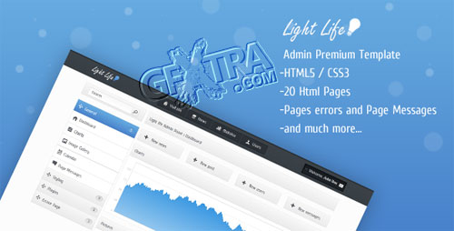 Light life Admin Panel - ThemeForest