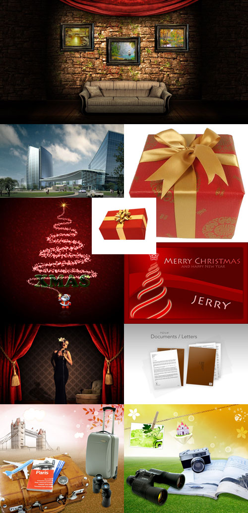 PSD source collection for Photoshop 2011 pack # 69