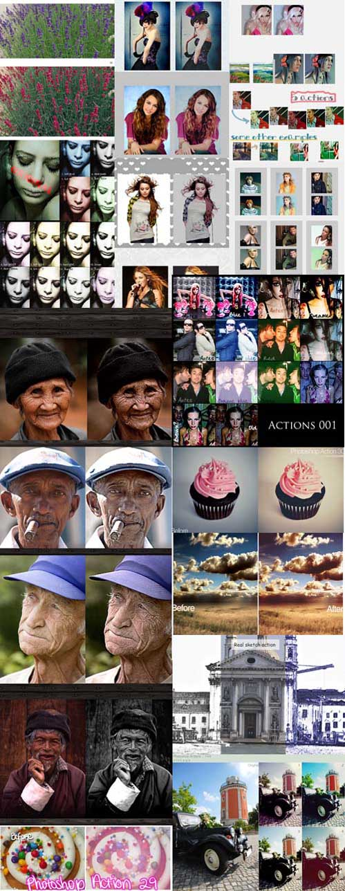 Photoshop Action pack 221
