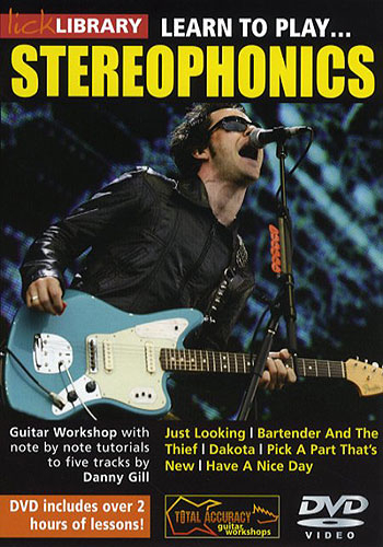 Lick Library - Learn To Play Stereophonics