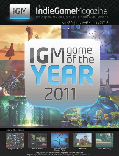 Indie Game Mag - January/February 2012