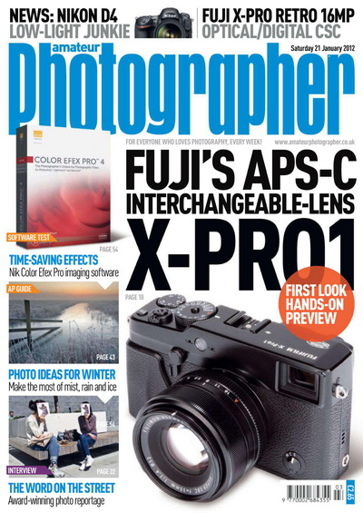 Amateur Photographer - 21 January 2012 UK
