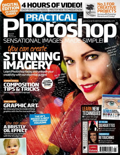 Practical Photoshop - January 2012 HQ