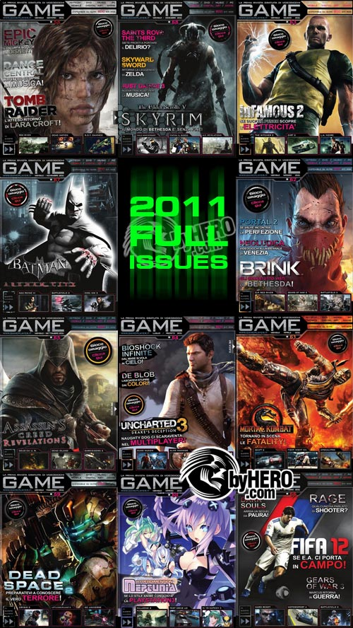 GAME 2011 Full Year Collection, Italian
