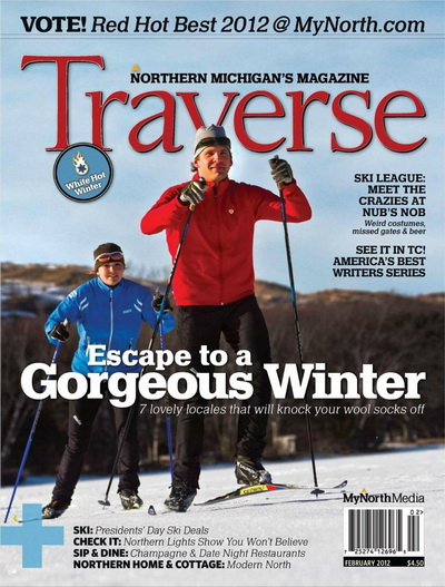 Traverse, Northern Michigan\'s Magazine - February 2012