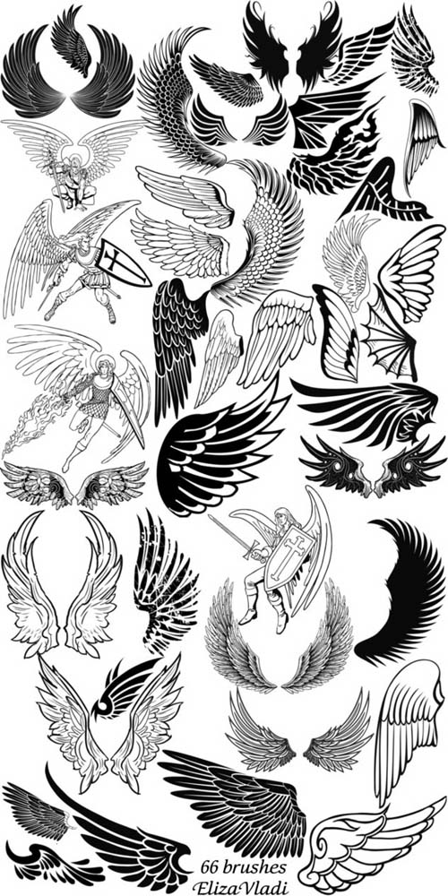 Wings Brushes 2012