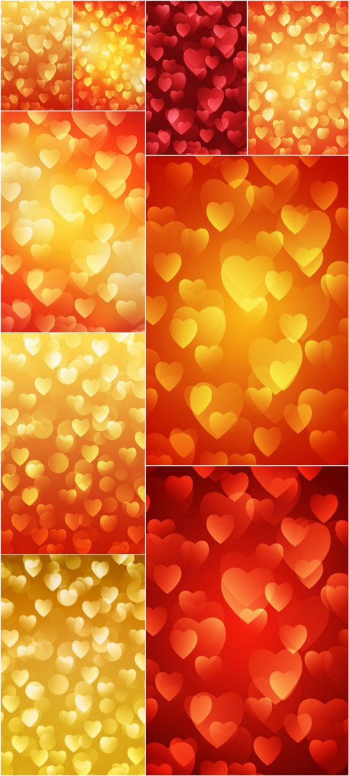 Backgrounds For Valentines Day 2012 - Love Bokeh