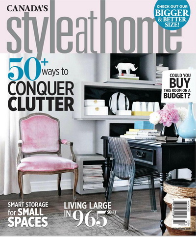 Style at Home Magazine March 2012