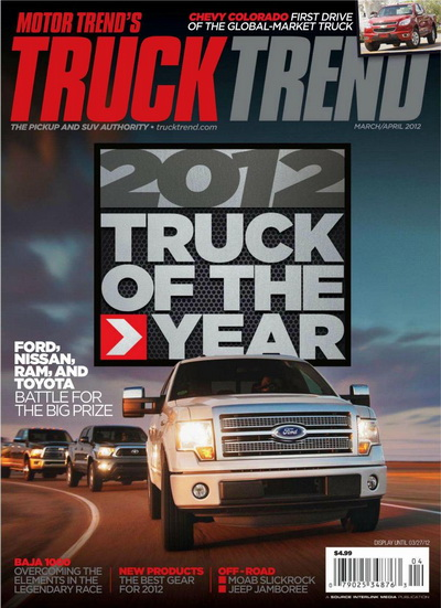 Truck Trend USA - March/April 2012