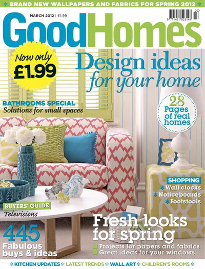 Good Homes UK - March 2012