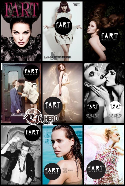 FART Magazine issues 10-18 2010/2011