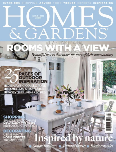 Homes & Gardens - March 2012