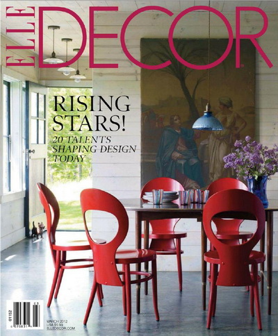 Elle Fashion 2012 on Elle Decor   March 2012   Usa    Graphic Gfx Sources More Than You