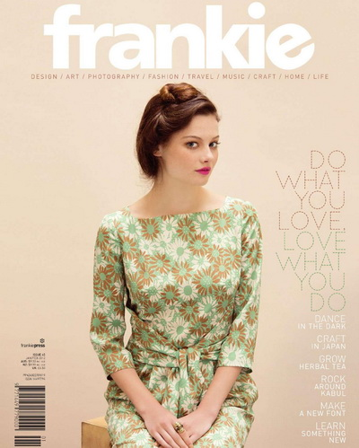 Frankie Magazine - January/February 2012
