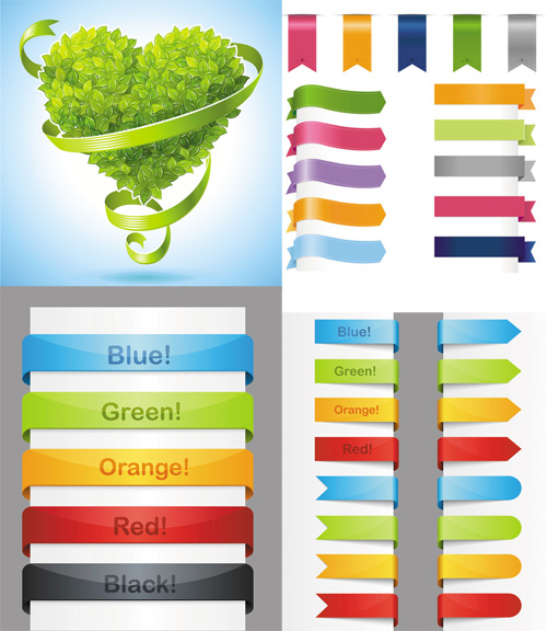 Collection of Vector Ribbon