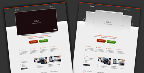 ThemeForest - simpler - Landing page - Rip