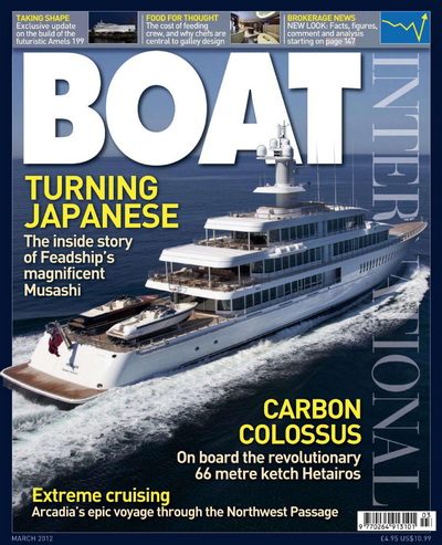 Boat International - March 2012