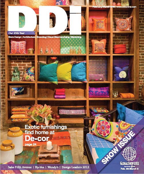Display and Design Ideas Magazine February/March 2012