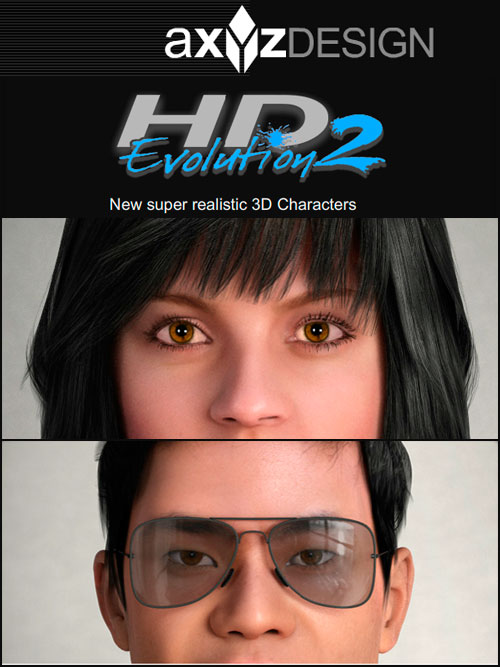 AXYZ METROPOLY HD Evo 2 – High Quality Man & Woman Model