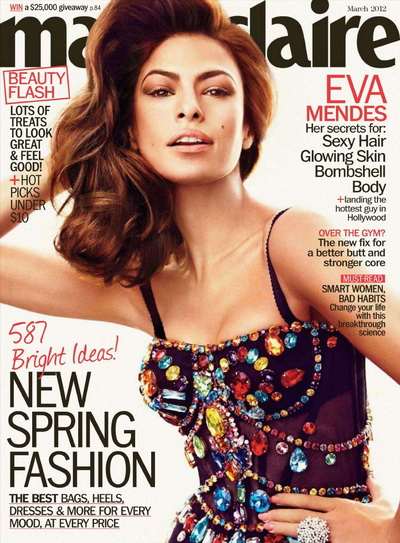 Marie Claire USA - March 2012