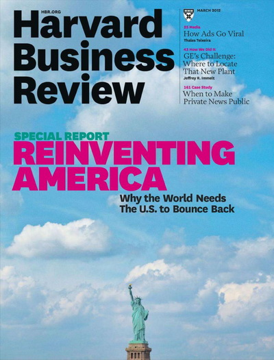 Harvard Business Review - March 2012