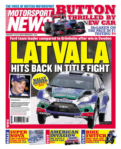 Motorsport News - 15 February 2012 UK