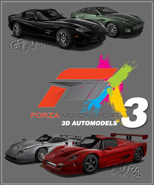 Forza Motorsport 3 Automodels 9.5 GB!