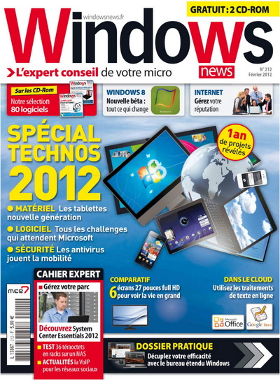 Windows News 212 - Fevrier 2012