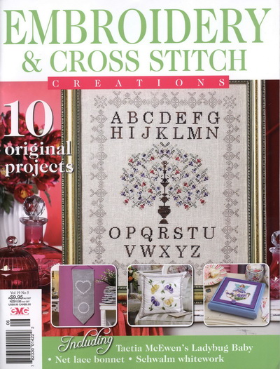 Embroidery & Cross Stitch Vol. 19 №5 2012