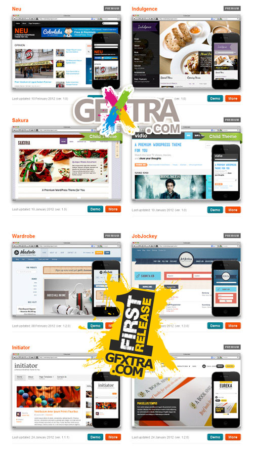 Premium Wordpress Themes - Colorlabsproject